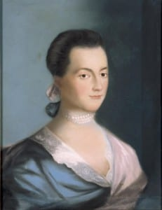 """Abigail Adams"" by Benjamin Blythe"